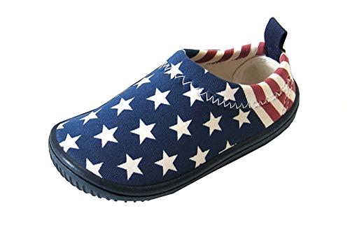 Insun Unisexo Zapatillas de Deporte para Niños y Niñas Zapatos de Lona Alpargatas Azul 4 27 Longitud...