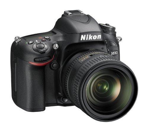Foto Nikon D610 Body + 24/85 VR Fotocamera Reflex Digitale, 24.3 Megapixel, LCD 3.2 Pollici, SD 8 GB Premium Lexar 300x, Nero [Nital card: 4 anni di garanzia]