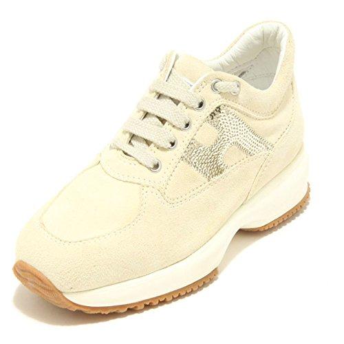 6994F sneaker HOGAN JUNIOR INTERACTIVE MICROPAILLETTES scarpa bimba sh [29]