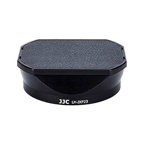 eFonto / JJC LH-JXF23 Pare-soleil Capuchon d'objectif avec capuchon Capuchon FUJIFILM LH-XF23 pour FUJINON XF 23mm F1.4 R WR Lens
