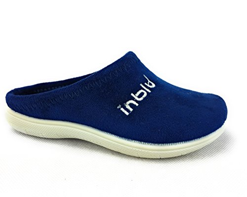INBLU pantofole ciabatte panno bimbo e bimba fondo antiscivolo (28)