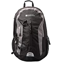 Mountain Warehouse Merlin 30L Backpack - Reflective Details, Womens & Mens Rucksack, Padded Airmesh Back, Laptop Pocket - Ideal For Cycling, Travel, Backpacking, Camping
