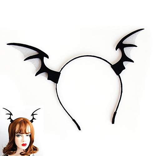 Nicedeal 1pc Halloween Stirnband Elf Devil Horn Stirnband Spinnen-Geist-Haar-Band Cosplay Teufel Stirnband Halloween Weihnachten Thema-Partei-Dekoration-Geschenk-Geschenk für Mädchen
