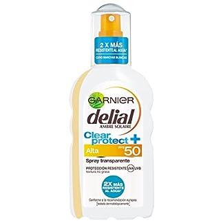 Garnier Delial Spray Protector Transparente, FPS50 – 20 cl