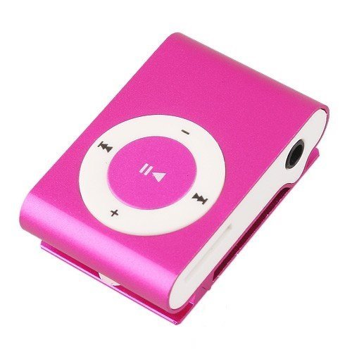SONILEX MP3 PLAYER WITH EAR PHONES PINK