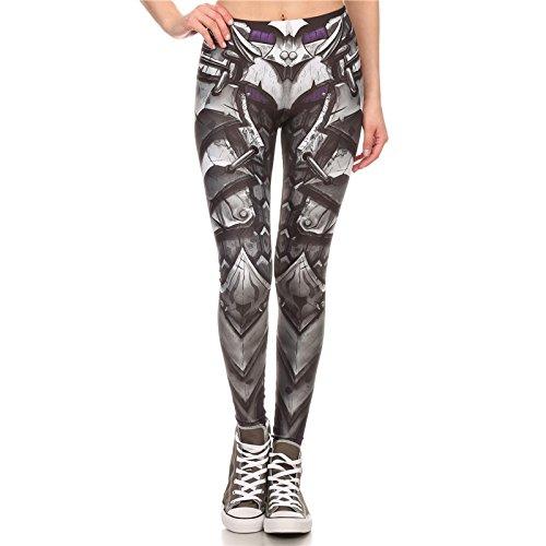L'arrivée de la Bande Dessinée Legins marque Armor Legging Imprimé Femmes Leggings Leggins taille haute Slim Pantalons Femmes Sexy...