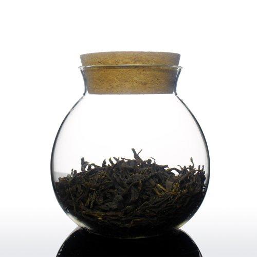 Kaffee Tee Zucker Glasbehälter & Töpfe (1er Set, Petrela 400 Milliliter) Transparent Glasbehälter mit Korken Deckel Küche Haushalt & Wohnen Aufbewahren & Ordnen Küche Lebensmittelaufbewahrung - Unihom