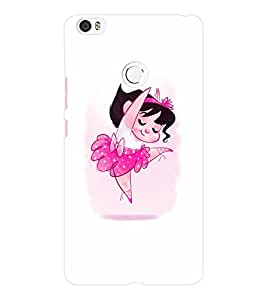 EPICCASE Ballerina Mobile Back Case Cover For Xiaomi Mi Max (Designer Case)