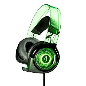 PS3 - Afterglow Wired Headset Grün (PS3 + Xbox 360)