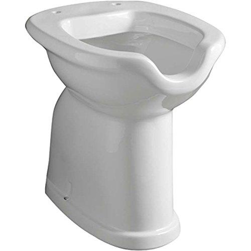 Sanitari bagno ceramica vaso disabili muro tutto fai da te - Attrezzature per disabili bagno ...