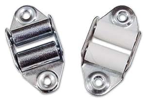 Poulie pour volet vertical avec 2pz rouleaux métalliques de fer