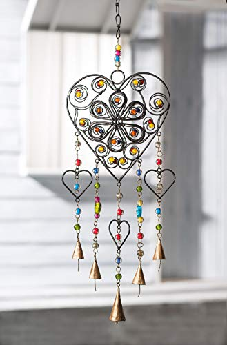 Namaste FAIRLY-HEART-BEAD-WINDCHIME