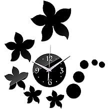 Lxlnxd Moda 2017 Nueva Réplica De Reloj De Arte Del Diseño Moderno De Seguridad Sticker Adhesivo Pared Bricolaje Relojes De Lujo En La Decoración Del Hogar