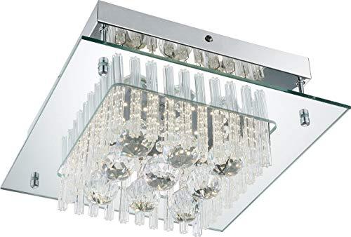 Globo Wirkungsvolle Lichteffekte durch Glas und klare Kristalle
