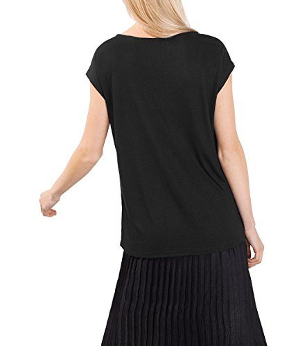 ESPRIT Collection Damen T-Shirt Schwarz (Black 001)