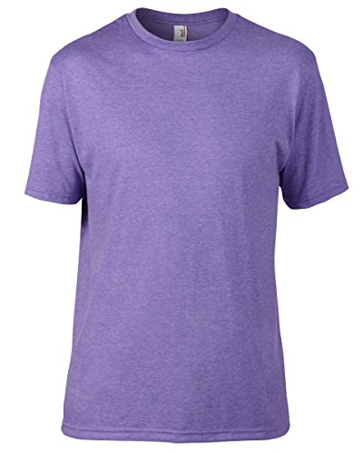 Anvil Herren T-Shirt Erikaviolett