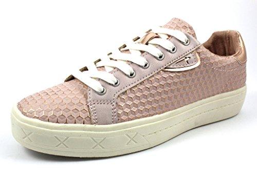 Tamaris Damen 23604 Sneakers, Pink (Rose Struct. # 972), 39 EU