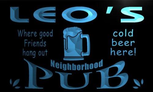 enseigne-lumineuse-pg168-b-leos-neighborhood-home-bar-pub-beer-neon-light-sign