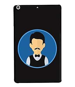 Apple iPad Mini 2, Apple iPad Mini 2 Wi-Fi + Cellular (3G/LTE); Apple iPad Mini 2 Wi-Fi (Wi-Fi, w/o GPS) Back Cover Waiter Logo Icon Design From FUSON