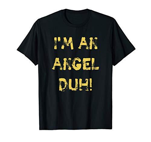 I'm an Angel Duh, lustig, DIY Halloween Weihnachten Kostüm - Teenager Engel Kostüm