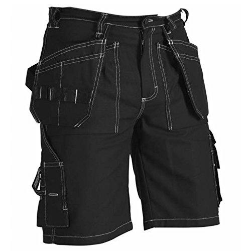 """Blåkläder Workwear (BLKL7) Blåkläder Workwear 172177 Arbeitsshorts Handwerker""""1534"""" - BLAKLÄDER schwarz C48"""