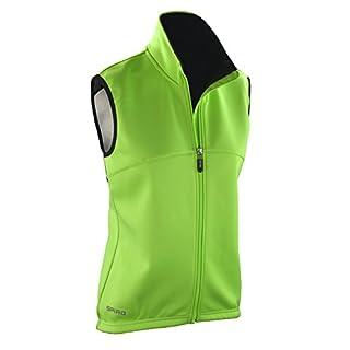 Spiro Damen Radfahr-Weste, Airflow Größe L grün - Neon Green/Black