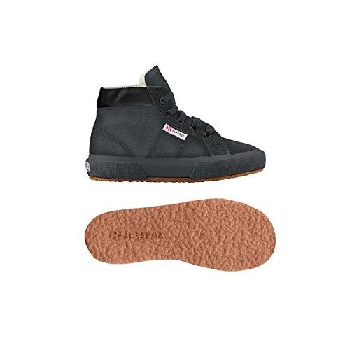 Superga 2204-Suem, Chaussures de Gymnastique Homme FULL CHARCOAL GREY