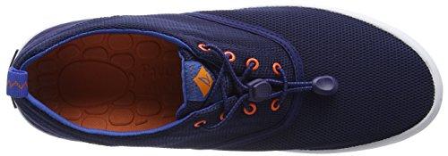 Sperry - Flex Deck Cvo Blue, Scarpe da barca Uomo Blu (Blu (Blue))