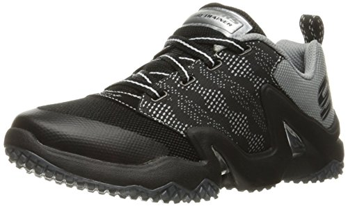Skechers Rapid Train - High Impact Textile Turnschuhe Black/Gray