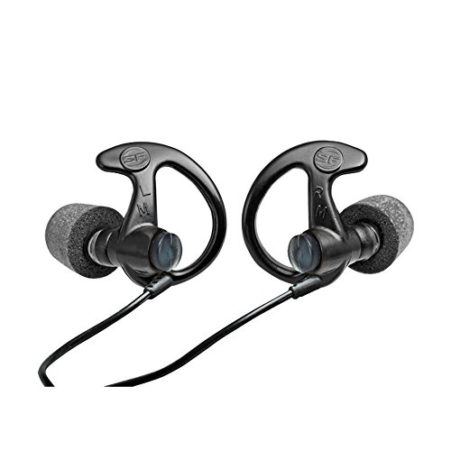 Surefire EP10Sonic Defenders Ear Plugs (1Paar), schwarz -
