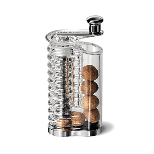 Price comparison product image Cole & Mason Wallis Nutmeg Mill - Acrylic/Silver