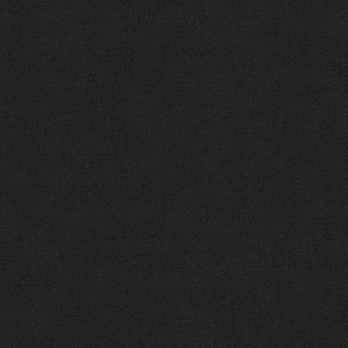 Baumwolle Stoff Meterware Kona Schwarz -