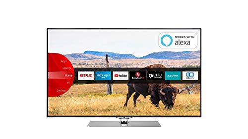 JVC TV Smart da 55'' UHD 4K , LT-55VUQ73I, serie 2019 [Esclusiva Amazon.it] [Classe di efficienza energetica A]