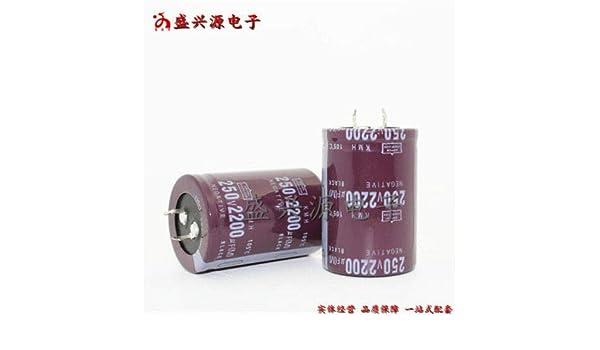 1PCS 250V 2200uF 250Volt 2200MFD Electrolytic Capacitor 35×50 NEW