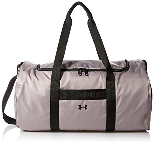 218f65abc Under Armour Favorite Duffel Bolsa Deportiva, Mujer, Gris (Tetra Gray/Black/