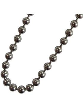 Blumenkind Damen-Halskette Grau SC073GR