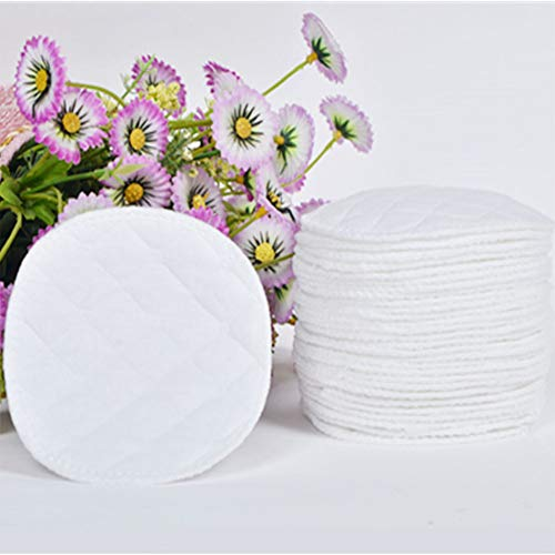 Eleganantstunning Brustunterlage, 3-lagig, Baumwolle, atmungsaktiv, wiederverwendbar, 12 Stück