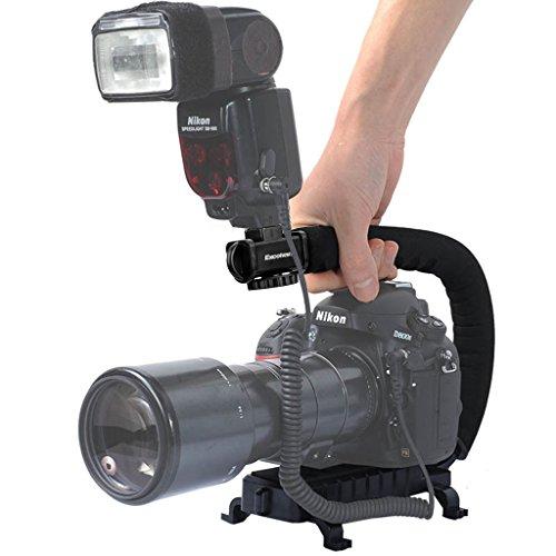Excelvan-CC-VH02-Pro-Stabilizzatore-Reflex-Maniglia-Superiore-Grip-Stabilizzatore-per-Macchina-Fotografica-per-la-Videocamera-DSLR-Nero