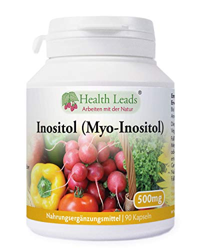 Inositol (Myo-Inositol) 500mg x 90 Kaps -
