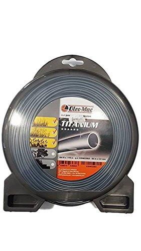 Hilo Desbrozadora Titanium Original Emak–Efco–oleomac redondo 3,0mm, 56MT