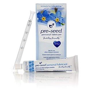 PRE-SEED Vaginal Fertility lubricant + 5 Ultra 10miu Pregnancy Tests