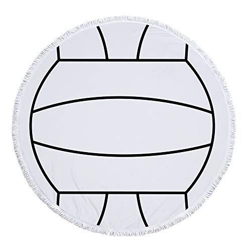 Stranddecke wasserdichte, Sandabweisende Campingdecke Ultraleicht kompakt Wasserdicht und sandabweisend,Druck A-3 300g 150 cm polyester material