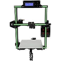 Profesional E2 de gran tamaño 4 Tipo de zócalo de alta precisión Marco de aluminio Impresora de impresión 3D Fácil máquina de montaje de bricolaje