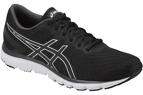 ASICS Gel-Zaraca Damen Running Trainers T6G8N Sneakers Schuhe (UK 7.5 US 9.5 EU 41.5, Black Dark Grey 9090)