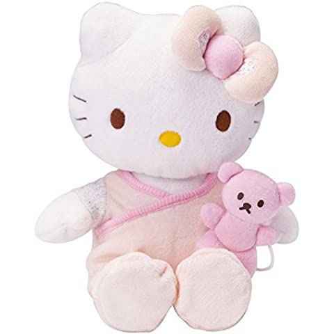 Hello Kitty - Peluche musical, 27 cm, color rosa (Giros AB150766)