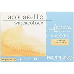 Fabriano Artistico Aquarellpapier, mein Lieblingspapier!