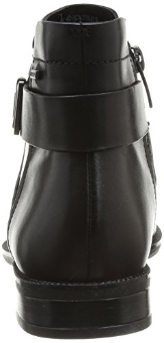 Clarks Mint Jam GTX Damen Chelsea Boots Schwarz (Black Leather)