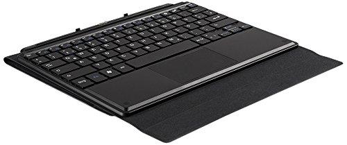 TrekStor Keyboard W10a (Tastatur mit Kunstledertasche und Standfunktion für das TrekStor SurfTab wintron 10.1 und wintron 10.1 3G) schwarz
