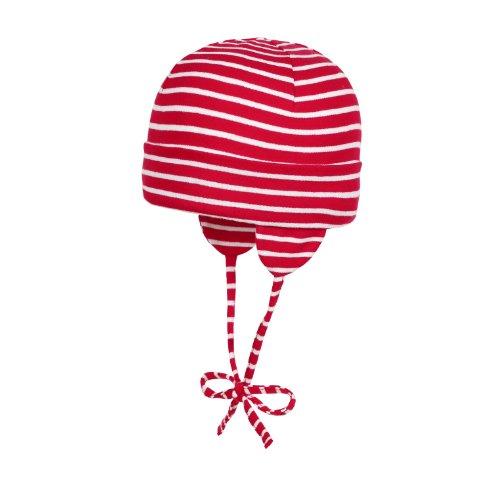 Döll Unisex Baby Bindemütze Jersey Mütze, Rot (Chinese Red 2000), 41/43 (Herstellergröße: 43) - Baby Mütze Rote