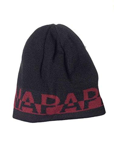 Cappello Napapijri Fasano N0YF5K Made in Italy 041-Black, Taglia unica MainApps